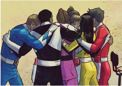 Rangers, Together - Power Rangers Shattered Grid - Matt Reads Comics