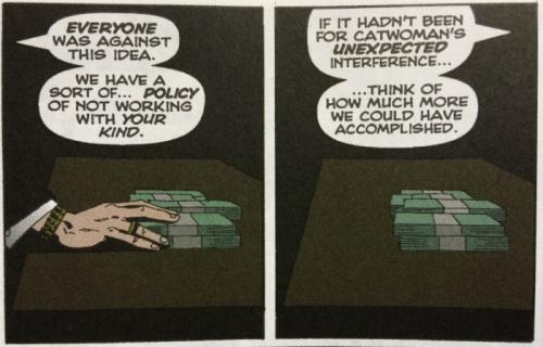 Falcone Lacks Imagination - Holiday Killer Identity - Matt Reads Comics