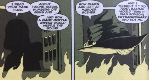 Gilda Explains - Holiday Killer Identity - Matt Reads Comics