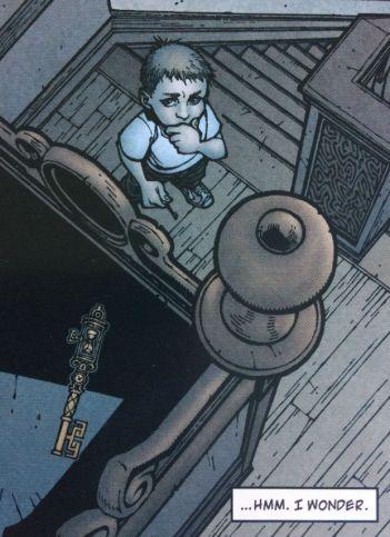 The Timeshift Key - Locke and Key Head Games - Matt Reads Comics