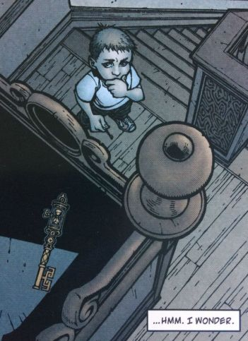 The Timeshift Key - Locke and Key Head Games - Matt Reads Comics
