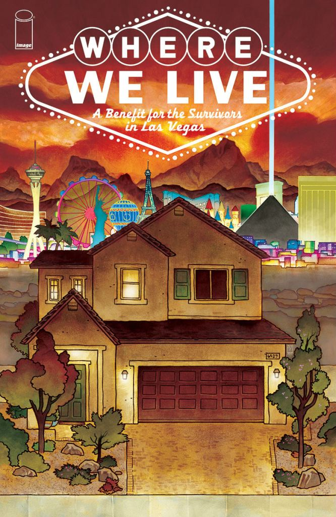 Where We Live Full Front Cover - Matt Reads Comics
