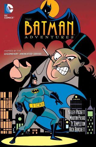 Batman Adventures Vol 1 Cover - Matt Reads Comics