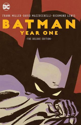 Batman Year One Cover - Matt Reads Comics