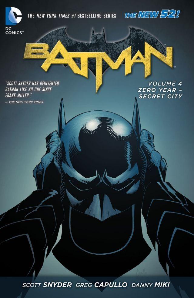 Batman Zero Year Cover - Matt Reads Comics