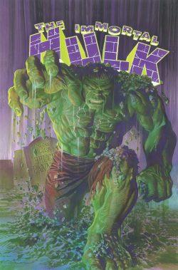 The Immortal Hulk Vol 1 Cover - Matt Reads Comics