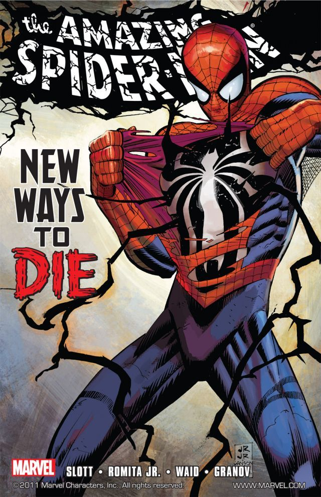 Amazing Spider-Man New Ways to Die Cover - Matt Reads Comics