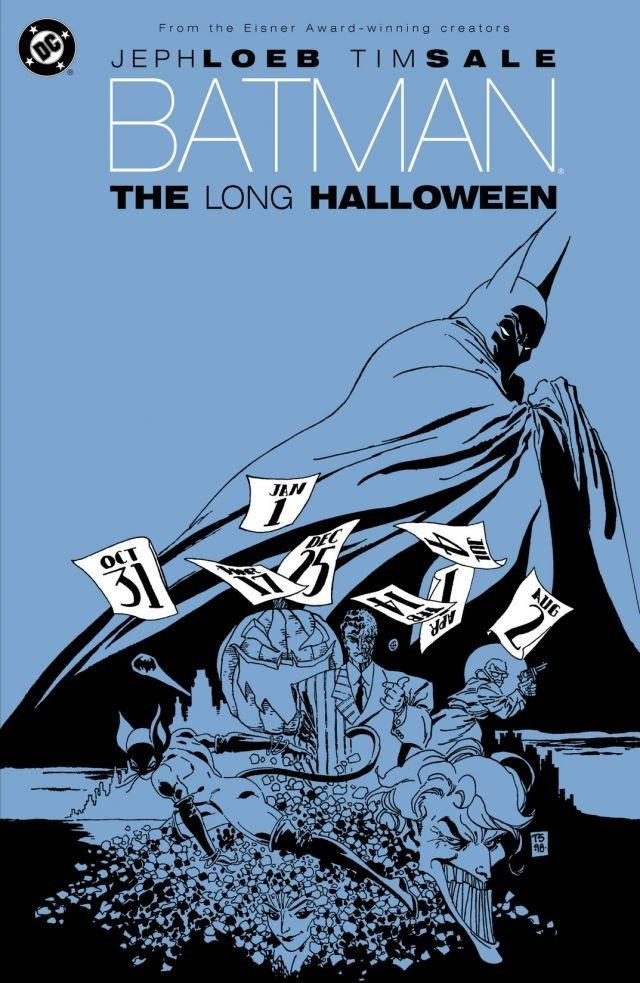 Batman The Long Halloween Cover - Matt Reads Comics