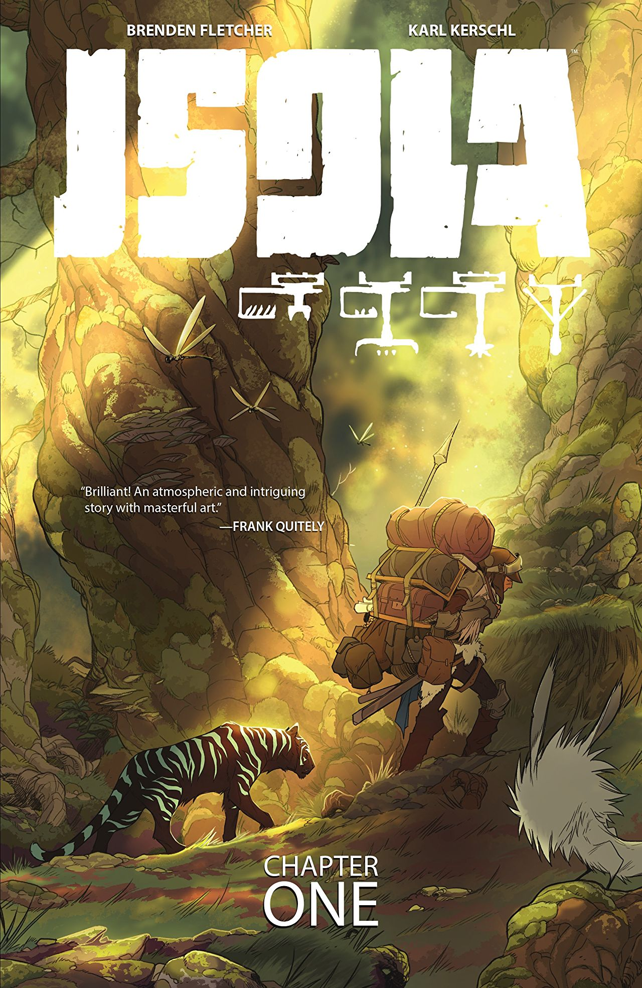 Isola Vol 1 Cover - Matt Reads Comics
