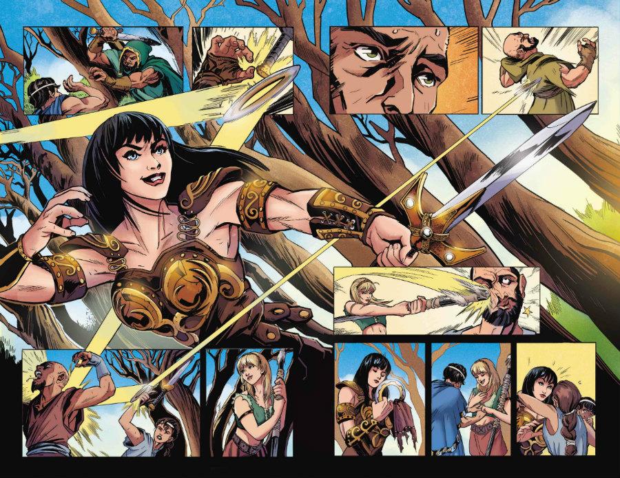 Olympia Sweetman Xena Dynamite - Matt Reads Comics