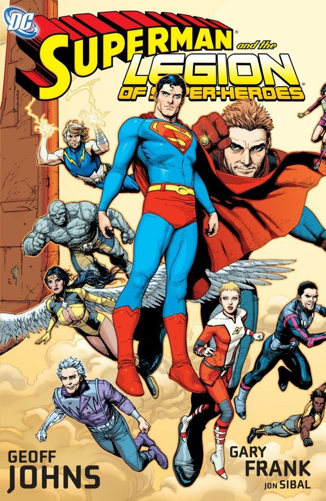Superman and the Legion of Super Heroes Cover - Matt Reads Comics