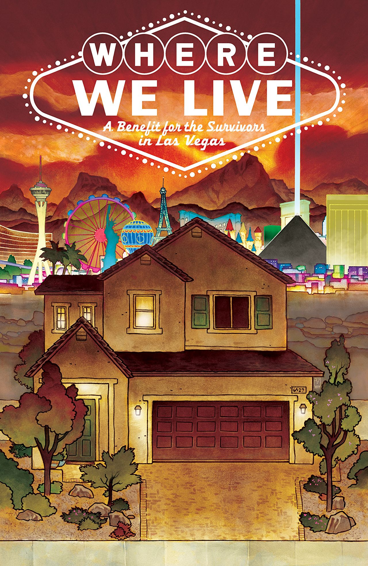 Where We Live Cover - Matt Reads Comics