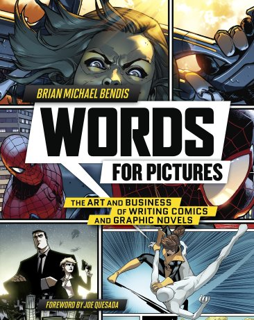 Words for Pictures Cover - Matt Reads Comics