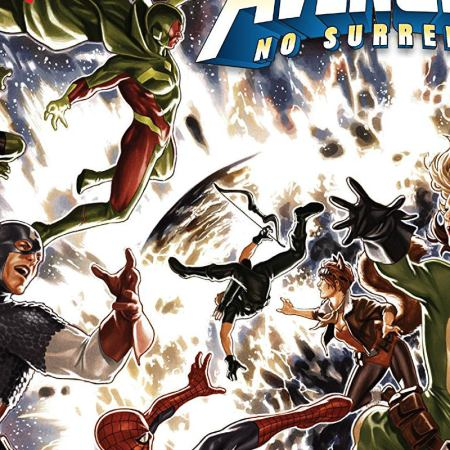 Avengers No Surrender Cover Featured