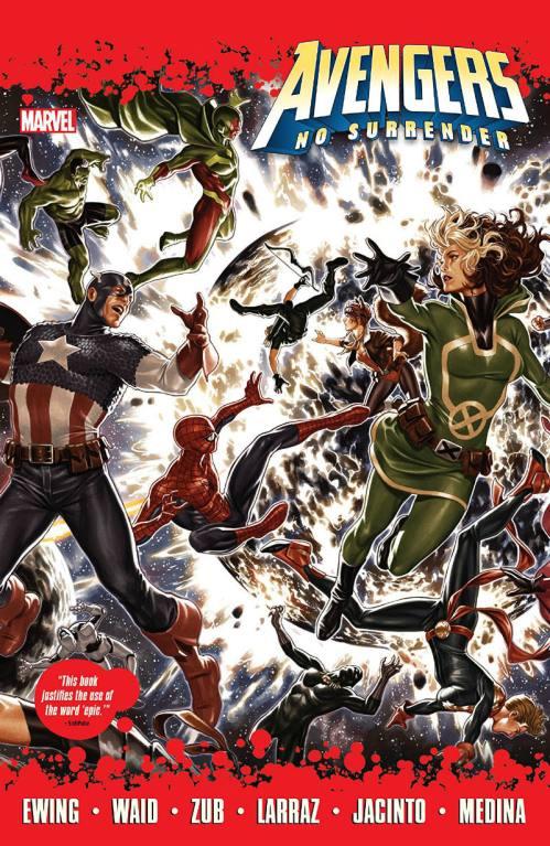 Avengers No Surrender Cover