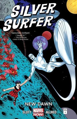 Silver Surfer Vol 1 Cover Slott Allred