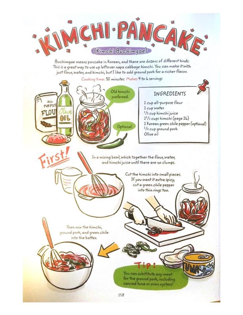 Cook Korean Robin Ha Kimchi Pancake Recipe