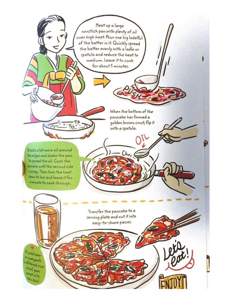 Cook Korean Robin Ha Kimchi Pancake Recipe-2