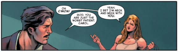 Carol is the Worst Patient Captain Marvel 9