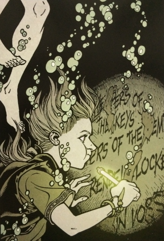 Kinsey Finds the Keepers of the Key Locke and Key Crown of Shadows