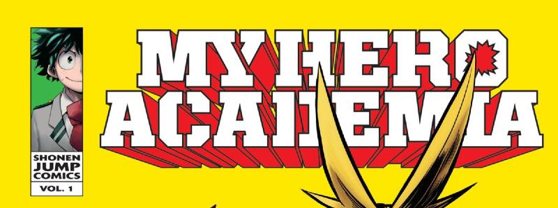 My Hero Academia Vol 1 Banner