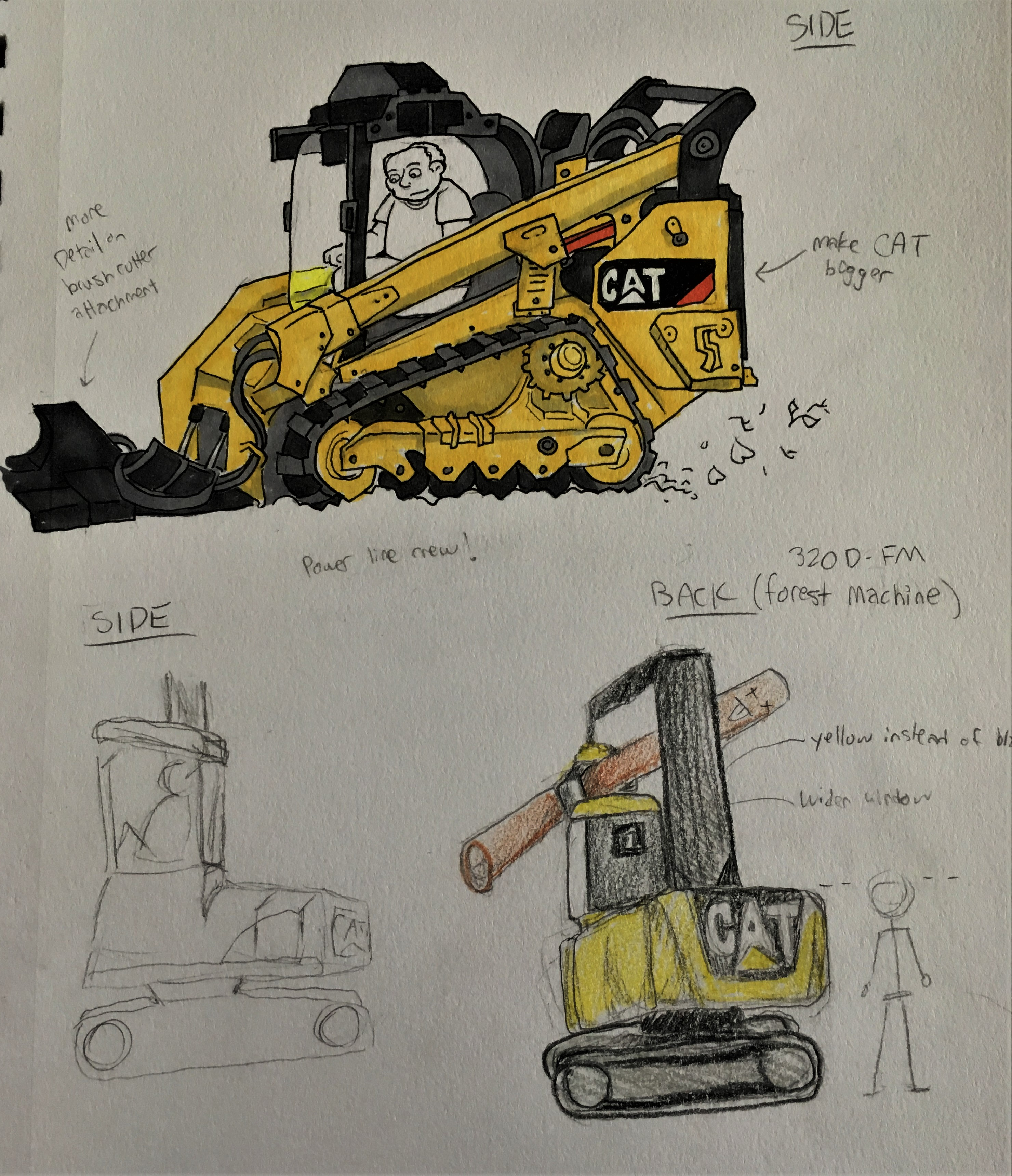 CAT Sketches Art Cred Red Phacelia Kieron Gillen Project