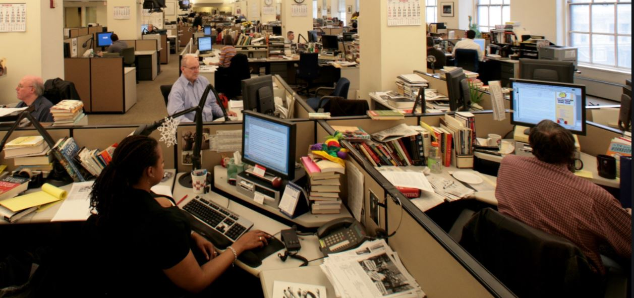 the office template 2007 (Fred R Conrad - the NYT)