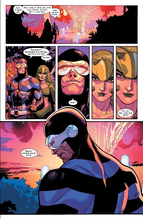 Cyclops Every Word of It Xmen Yu