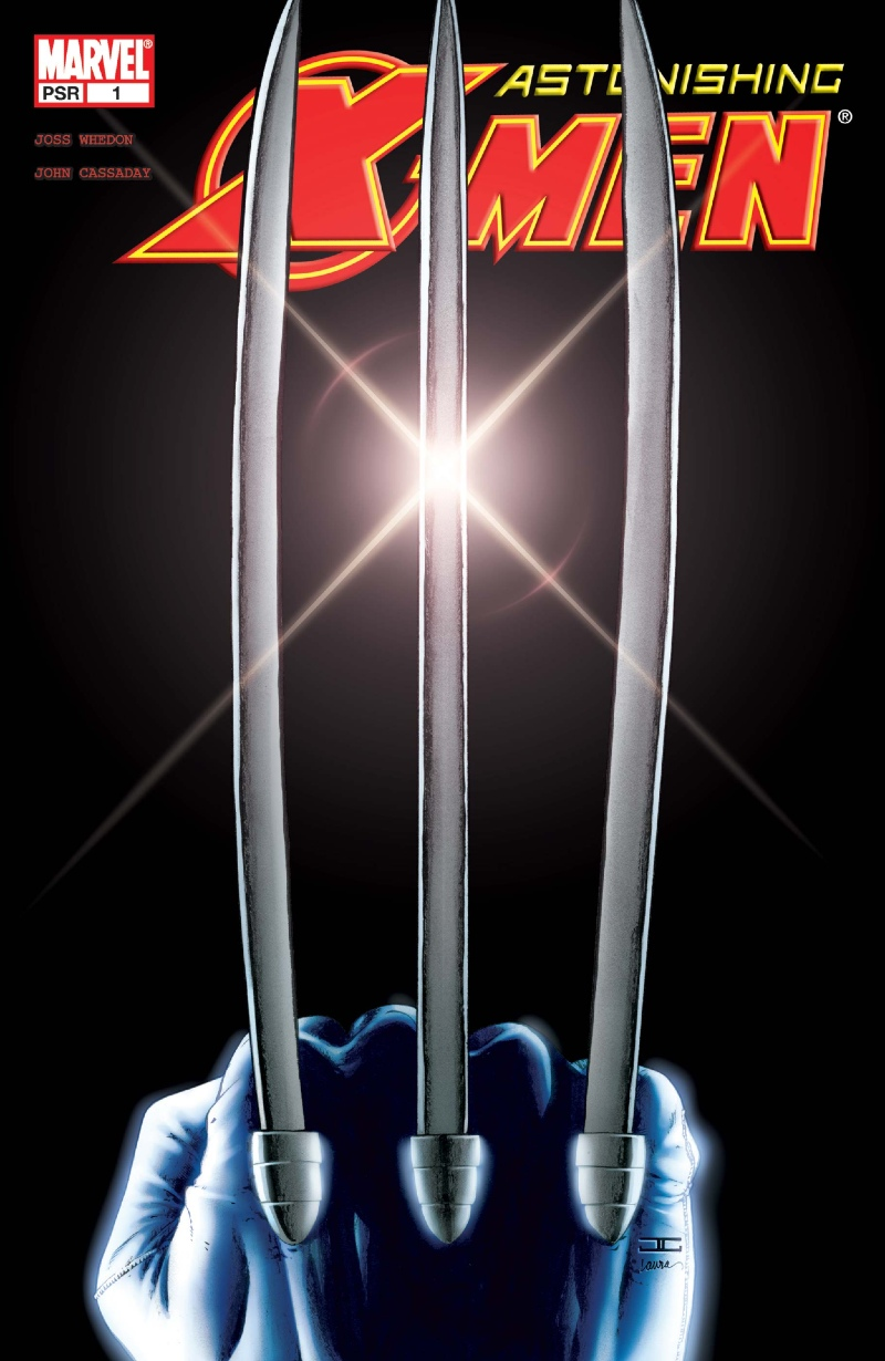 Astonishing XMen 1 Wolverine Claws Cover