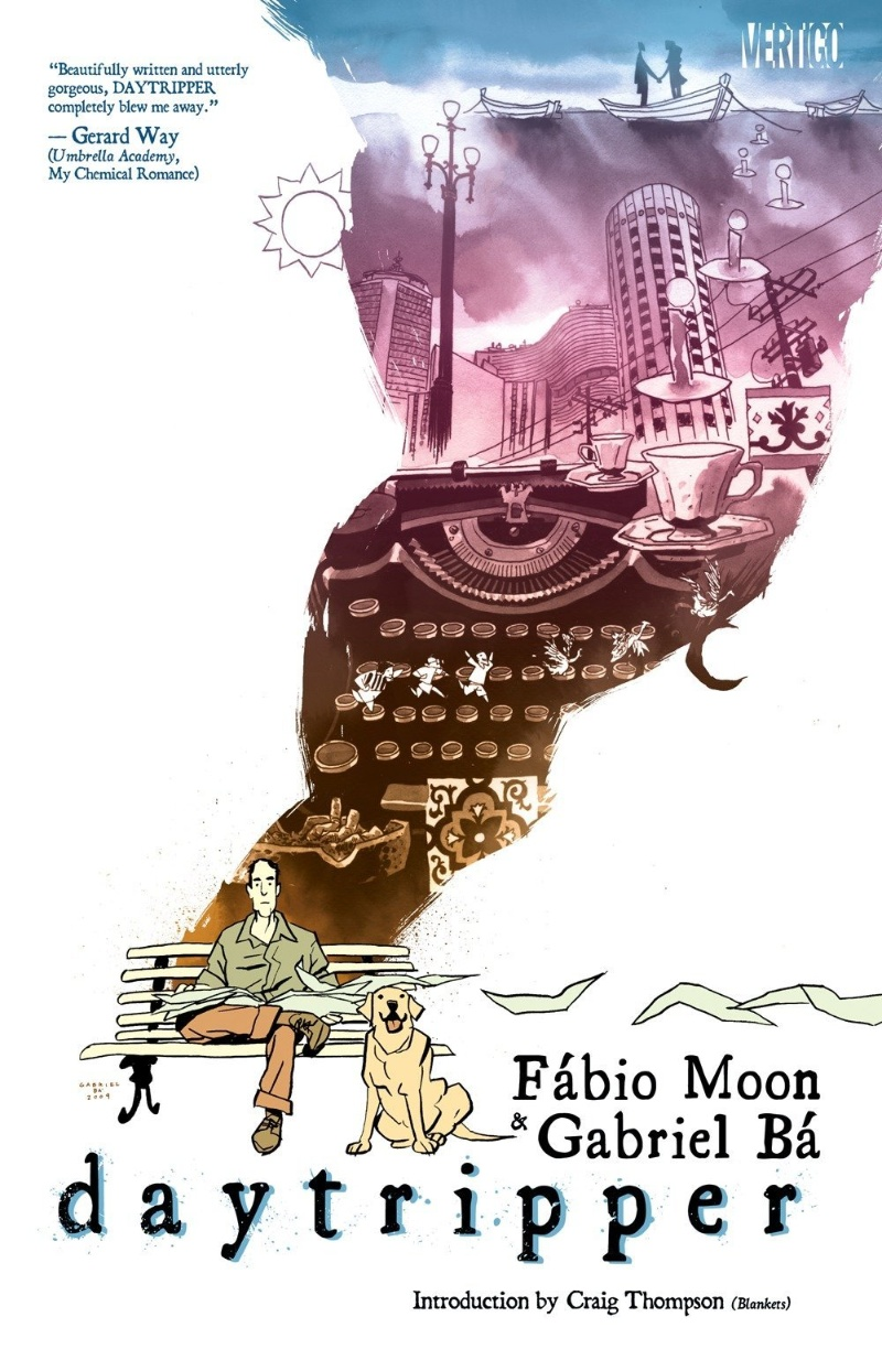 Daytripper Cover Moon Ba