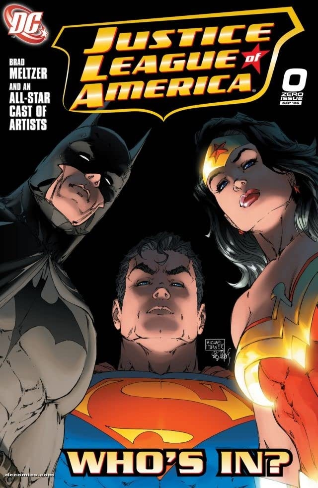 Justice League 0 Cover Michael Turner