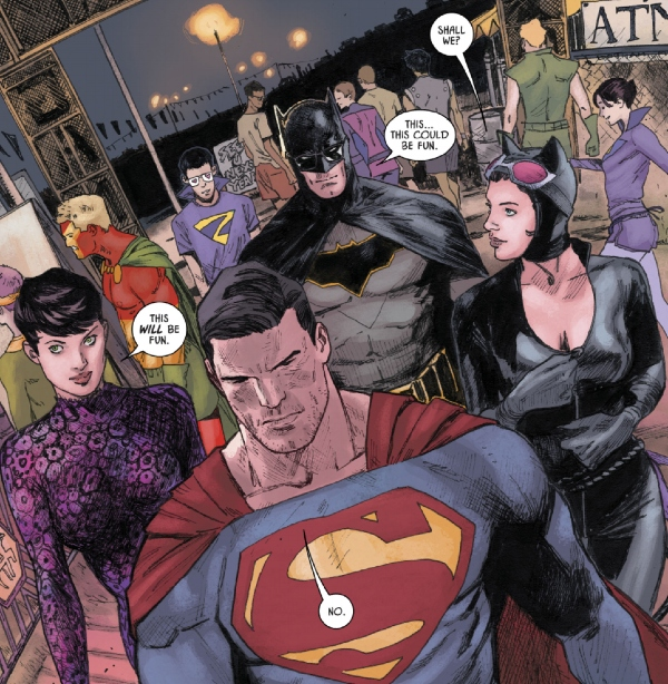 batman superman double date